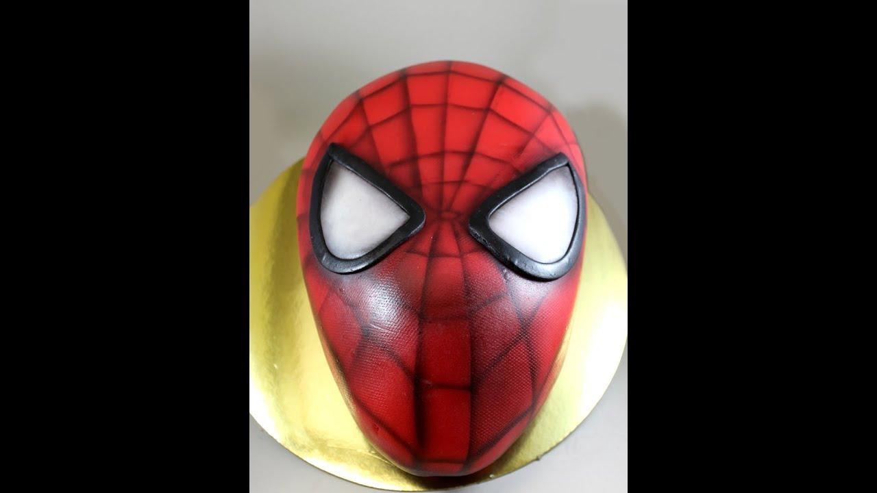 Pintrest Spiderman Cake