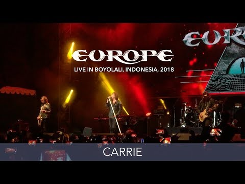 Europe - Carrie - Live in Boyolali, Indonesia 2018