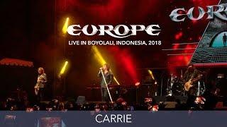 Gambar cover Europe - Carrie - Live in Boyolali, Indonesia 2018