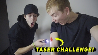 TASER CHALLENGE! ft. David Dobrik, Jason Nash, & Josh Peck