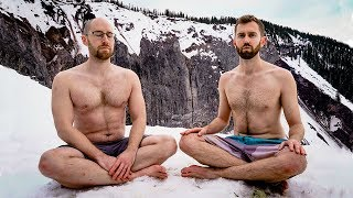 We Trained like the ICEMAN for 21 Days - Wim Hof Breathing Challenge