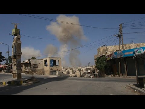 Syrien: Schwere Angriffe