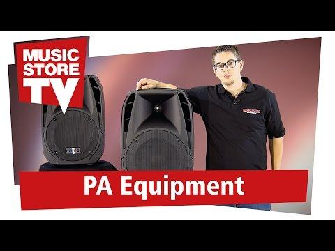 FAME BTA PA-Lautsprecher mit Bluetooth und Multimedia-Player