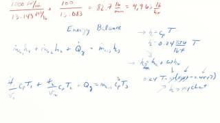 MEEN 664 Mixing Problem Solution