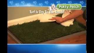 """Potty Patch Туалет для собак с покрытием """"Травка"""" (68 см х43 см)"""