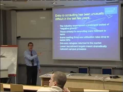David Warren speech at HEC on June 6, 2010 about Management Consulting