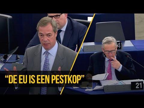 """Nigel Farage: """"De EU wil de Britten pesten - maar het zal ze niet lukken"""""""