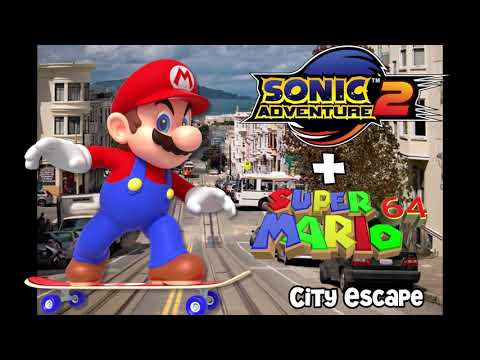 Sonic Adventure 2 - City Escape (SM64 Instruments)