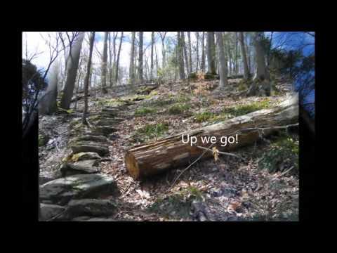 Zoar Trail, Newtown CT.  Hiking Paugussett State Forest