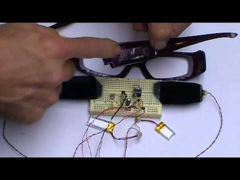 66067395e98 Automatic LCD Sunglasses - YouTube