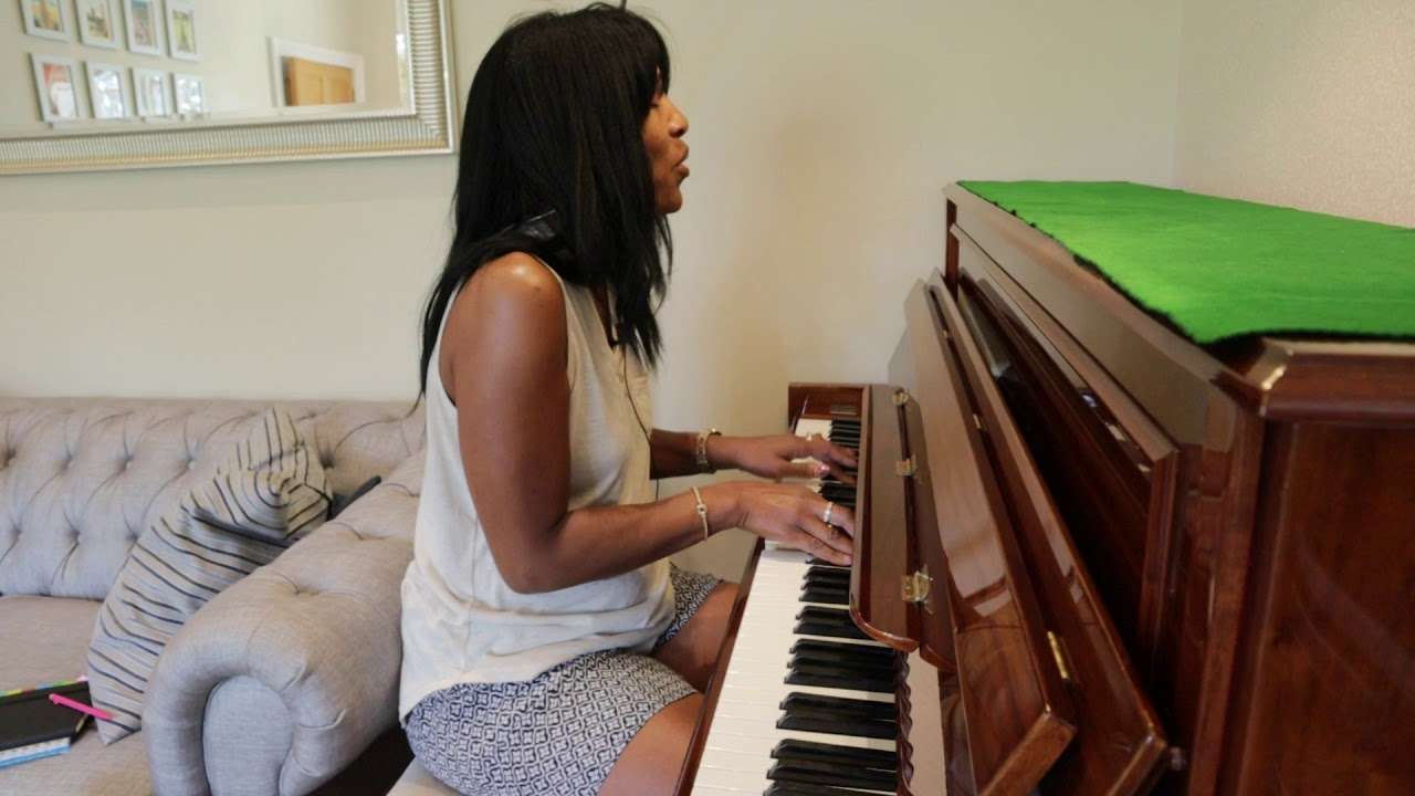 Playing Piano and Singing