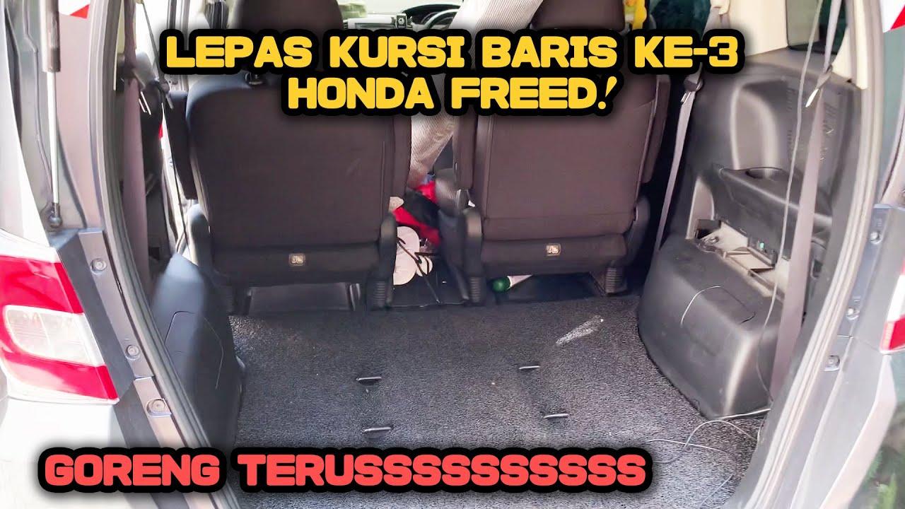Cara Lepas Kursi Baris ke-3 Honda Freed   Copot Bangku dengan Mudah dan Singkat!