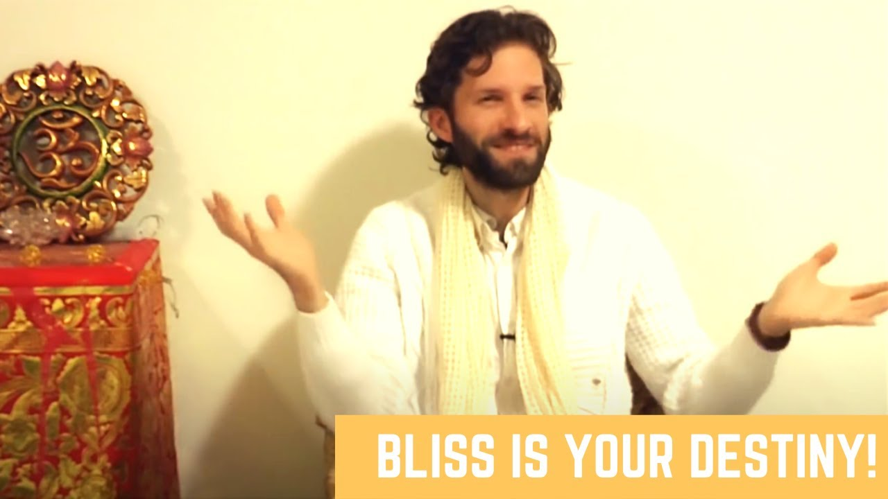 Bliss is Your Destiny! Soul, Consciousness and Density of the Mind