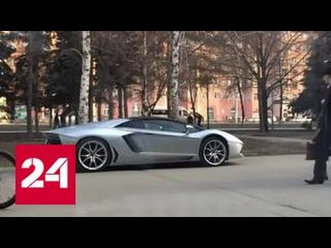 ДТП с Lamborghini в Челябинске попало в Сеть