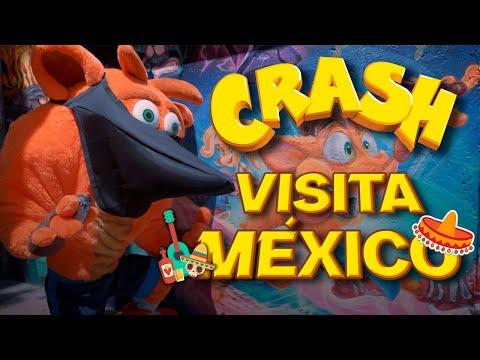 Crash Bandicoot Visita México I Trailer Crash Bandicoot 4 It's About Time