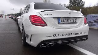 Mercedes-AMG C63 S Edition 1 Kuzka Performance! LOUD REVS!