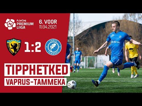 Parnu JK Vaprus Tammeka Tartu Goals And Highlights