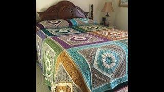 Yatak Örtüsü Modelleri, Tığ işi Örgü Örnekler   Crochet