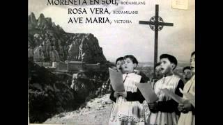 Escolania De Montserrat - Moreneta En Sou - EP 1963