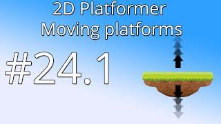 24.1  Unity 5 tutorial for beginners: 2D Platformer - Moving Platform