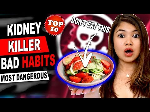 Kidney KILLER Bad Habits Top 10 Most Dangerous for Your Kidney Health and Kidney Function