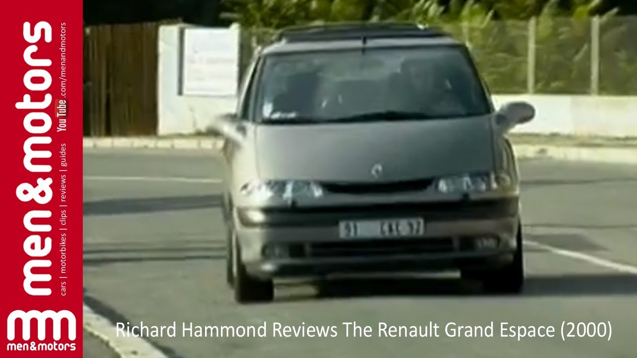 richard hammond reviews the renault grand espace 2000 youtube. Black Bedroom Furniture Sets. Home Design Ideas