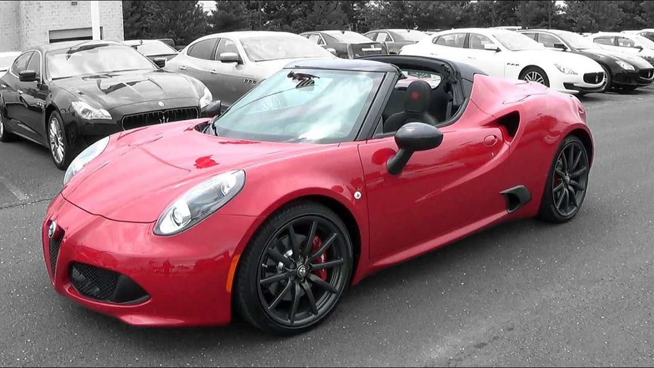 2015 Alfa Romeo 4C Spider: Review  YouTube