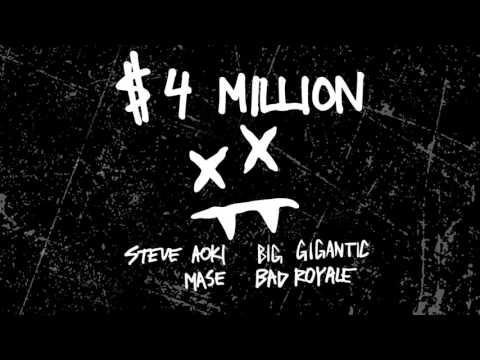 Steve Aoki & Bad Royale - $4,000,000 feat. Ma$e & Big Gigantic (Cover Art) [Ultra Music]