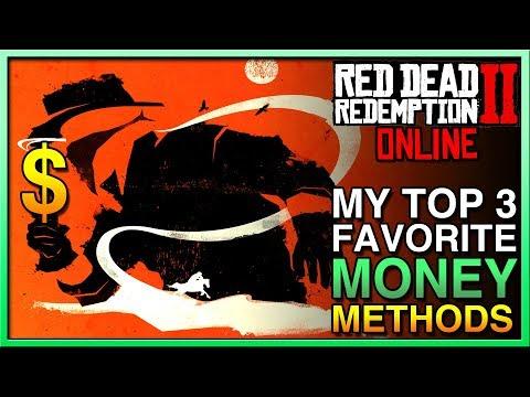Red Dead Redemption 2 Online - MY TOP 3 FAVORITE MONEY METHODS in Red Dead Online! RDR2 Online Money thumbnail