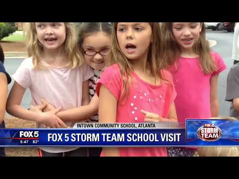 FOX 5 Weather School at Intown Community School