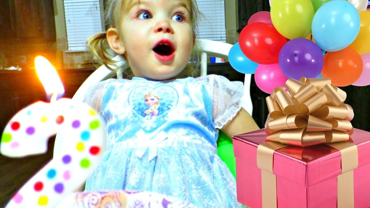 🎂Laura\'s 2 Year Old Birthday Special🎉 - YouTube