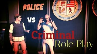 GTA V Online || Cop Vs Criminal Roleplay || Mercanti Family Role Play Guide