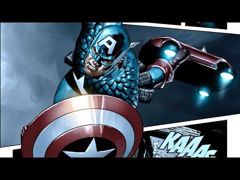 [MARVEL] Captain America   Menace Full Motion Comic Movie