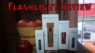 Review Of The Olight Seeker 2 Pro Orange, S1R 2 Red, And The i3E. Plus Sales!