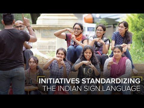 Standardising Indian Sign Language