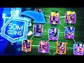 50 MILLION COINS TEAM UPGRADE IN FIFA MOBILE 19 - TEAM UPGRADE COMPILATION