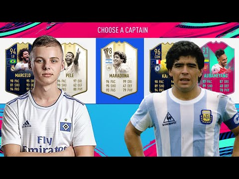 SPECIAL CARD DRAFT!!! (FIFA 19)