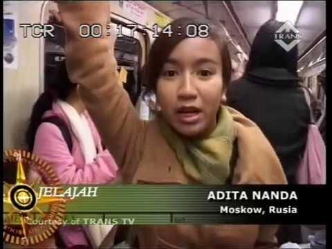JELAJAH Trans TV  in Rusia ; Mencoba Moscow Metro
