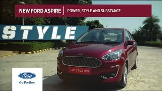 New Ford Aspire with Power, Style and Substance thumbnail