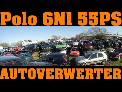 Ab zum Autoverwerter - unser VW Polo benötigt eine neue Kurbel! 🔧🚘🔧