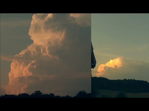 Thunderstorm Cloud Growing [Timelapse] HD+