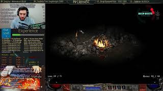 Diablo 2 - MAN VS STREAM Season 3.0 - Hell Druid Edition