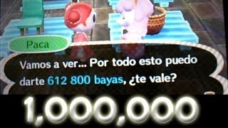 TRUCO 1,000,000 de bayas en 10 min - Animal Crossing New Leaf