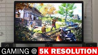 5k Resolution Gaming (5120x2880) Performance & Benchmarks On Nvidia GTX 980