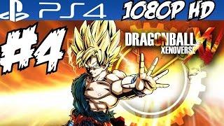Dragon Ball Xenoverse Walkthrough Part 4 Gameplay Let's Play Playthrough Review