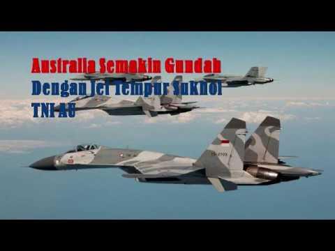 Australia semakin Gundah dengan Jet Tempur Sukhoi TNI AU