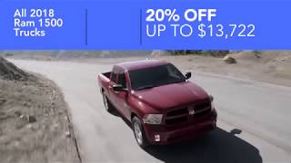 2018 Ram 1500 - 20% Off In Anderson, SC