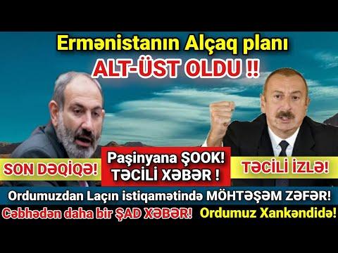 Yekun xəbərlər 06.11.2020 (Xəbər Saatı) Laçından MÖHTƏŞƏM Xəbər gəldi !!