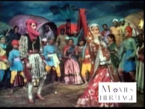 Ho Nacho Mann Ki Dhaal Pe - Aan (1952) - Full Songs
