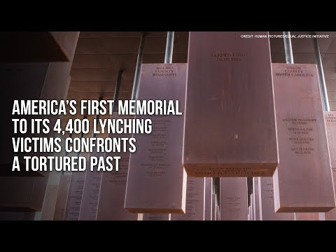 America's First Memorial To Its 4,400 Lynching Victims Confronts A Tortured Past